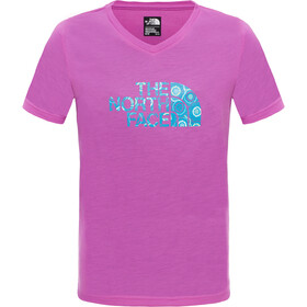 The North Face Reaxion S/S Tee Girls Sweet Violet